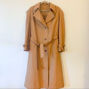 Vintage Etienne Aigner Classic Trench Coat 14